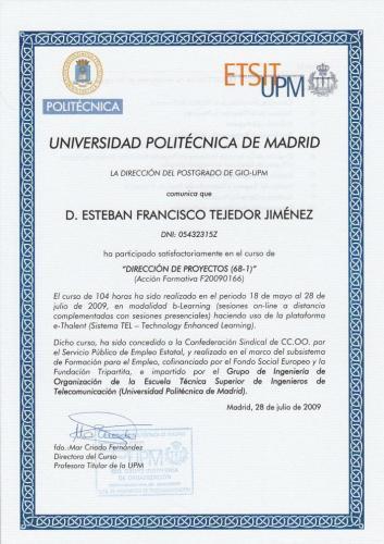 Project Management UPM